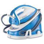 Statie de calcat TEFAL Effectis Easy GV6760, 1.5l, 220g/minut, 2200W, alb-albastru