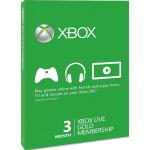 Card Xbox Live Gold 3 luni Xbox 360/Xbox One