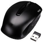 Mouse Wireless HAMA AM-7400, 1200 dpi, negru