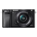 Camera foto digitala compacta SONY Alfa A6000 cu obiectiv interschimbabil 16-50mm, 24.3Mp, 3 inch, negru