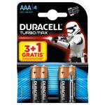 Baterii DURACELL Turbo Max AAAK3+1 Star Wars