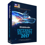 Antivirus BITDEFENDER Internet Security 2017, 1 an, 3 PC, Retail