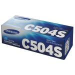 Toner SAMSUNG CLT-C504S, cyan