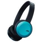 Casti on-ear cu microfon Bluetooth JVC HA-S30BT-A-E, albastru