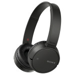 Casti on-ear cu microfon Bluetooth SONY MDR-ZX220BTB, NFC, negru