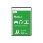 Card Xbox Live GOLD 12 luni Xbox 360 / Xbox One - CD Key cod digital