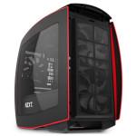 Carcasa NZXT Manta black-red, 2 x USB 3.0, mini-ITX, CA-MANTW-M2