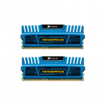 Memorie desktop Corsair Vengeance Blue CMZ8GX3M2A1600C9B, 2X4GB DDR3, 1600MHz, CL9