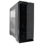 Carcasa SEGOTEP SG-K5 Black, 2 x USB 2.0, 1 x USB 3.0, SG-K5-BK