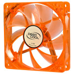 Ventilator DEEPCOOL Xfan 120U O/G portocaliu, 120mm, 1300rpm