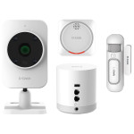 Smart Home Security Kit D-LINK DCH-107KT, alb