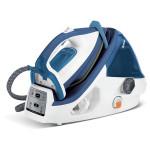 Statie de calcat TEFAL Pro Express Control Plus GV8932, 1.6l, 400g/min, 2400W, alb-albastru
