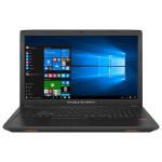 """Laptop ASUS ROG GL753VD-GC042T, Intel® Core™ i7-7700HQ pana la 3.8GHz, 17.3"""" Full HD, 8GB, 1TB, NVIDIA GeForce GTX 1050 4GB, Windows 10"""