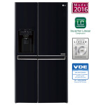 Side-by-Side LG GSJ760WBXV, 601l, A+, negru