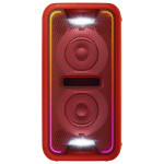 Sistem audio SONY GTK-XB7R Party Music, Extra Bass, USB, Bluetooth, NFC, iluminare LED, rosu
