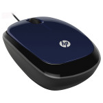 Mouse optic HP X1200, cu fir, 1200 dpi, USB, Revolutionary Blue