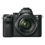 Camera foto digitala compacta SONY Alpha 7 Kit cu obiectiv, 20.3 Mp, 3 inch, negru
