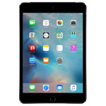 "Apple iPad mini 4, 32GB, Wi-Fi + 4G, A8, Ecran Retina 7.9"", Space Gray"