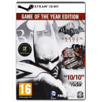 Batman: Arkham City (GOTY) CD Key - Cod Steam