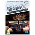 Microsoft Flight Simulator X - Steam Edition (Code in a Box) PC