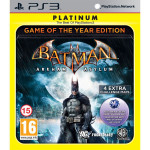 Batman - Arkham Asylum Game of the Year Edition PS3