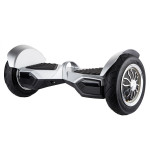 Scooter electric FREEGO W8S, silver + geanta transport inclusa