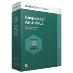 KASPERSKY Anti-Virus 2017, 1 an + 3 luni, 3 PC, Renewal, Box