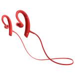 Casti sport in-ear cu microfon Bluetooth SONY MDR-XB80BSR, EXTRA BASS™, Wireless, rezistenta la stropire, rosu