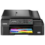 Multifunctional inkjet BROTHER MFC-J200, A4, USB, Wi-Fi