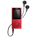 MP4 player SONY NW-E394R, 8GB, rosu