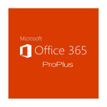 Licenta electronica Microsoft Office 365 ProPlus, 1 an, 5 PC/Mac, ShrdSvr SNGL SubsVL OLP NL Annual Qlfd