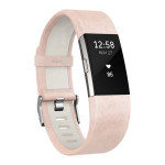 Bratara FITBIT Charge 2  leather, large, blusk pink