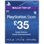 PlayStation Network Card UK 35 lire PS3 / PS4 / PS VITA