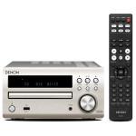Minisistem Hi-Fi DENON RCD-M40, 2x30W, USB, argintiu