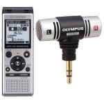 Reportofon stereo digital OLYMPUS WS-852 + microfon ME-51S