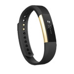 Bratara Fitness FITBIT Alta, Large, Gold Black
