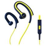 Casti sport in-ear cu microfon PIONEER SE-E711T-Y, galben