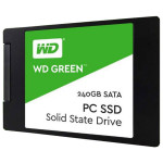 "Solid-State Drive WESTERN DIGITAL Green 240GB, SATA3, 2.5"", WDS240G1G0A"
