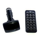 Modulator FM TUADIA DISCO700, 206 frecvente, 7m, jack 2.5mm, negru
