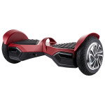 Scooter electric FREEGO W8, rosu + geanta transport inclusa