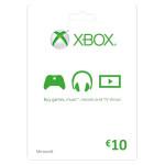 MICROSOFT Gift Card 10 Euro Xbox One / Xbox 360