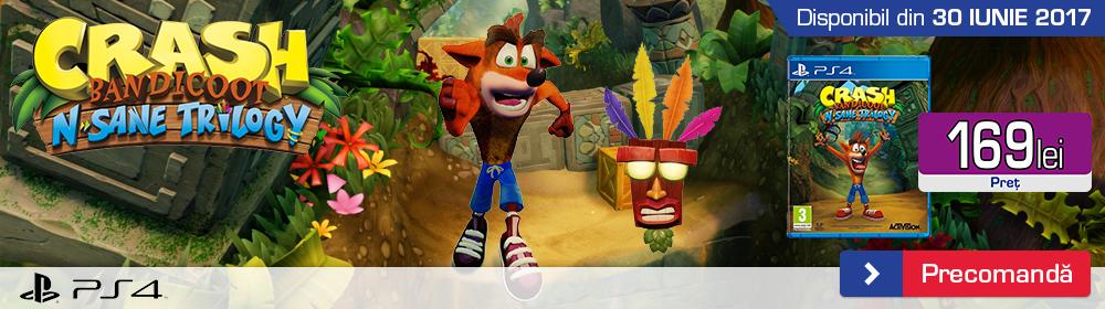 Crash Bandicoot N Sane Trilogy Remastered